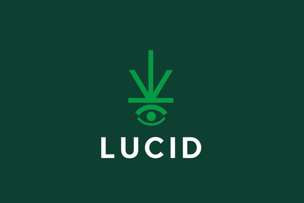 cannabis eye logo design