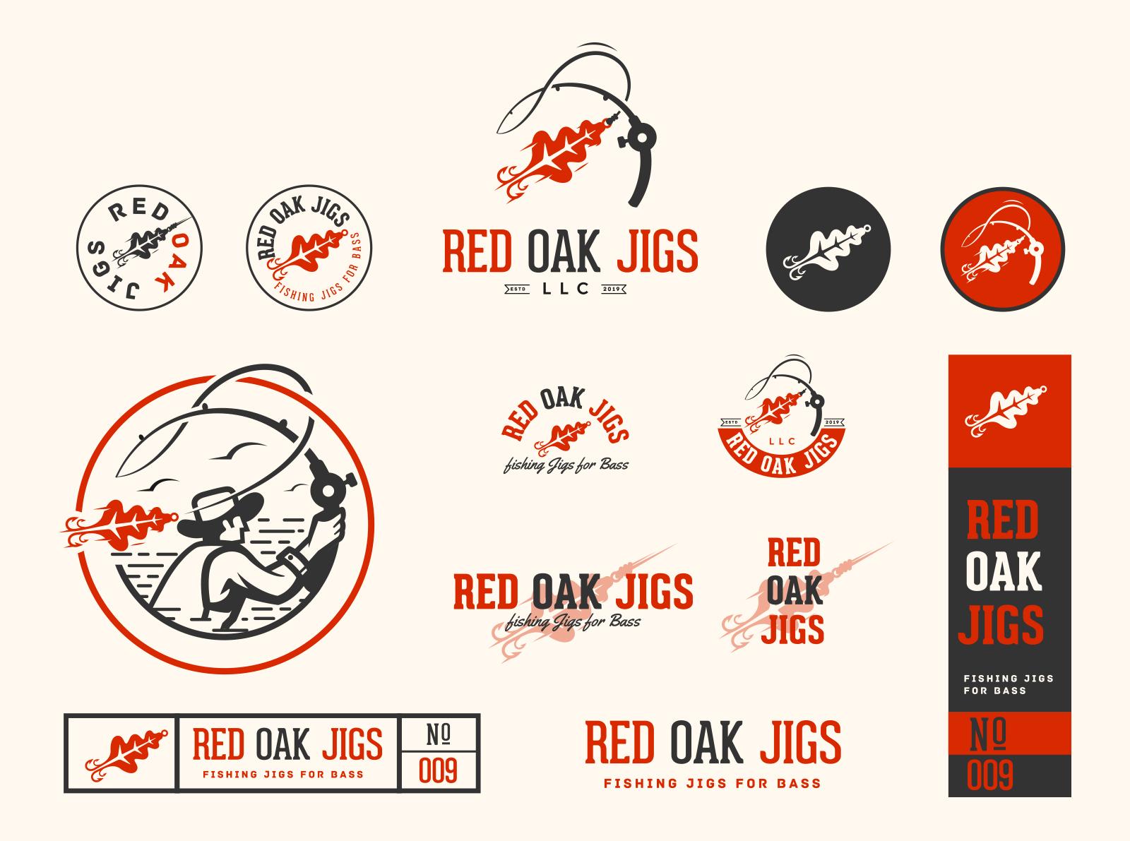 red oak jigs brand id